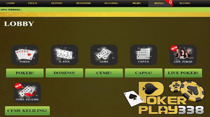 Lobby Pokerplay338